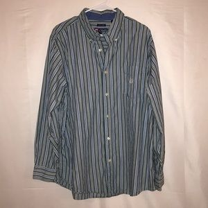 Chaps button up easy care shirt sz. XL